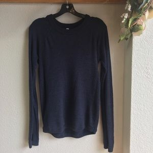Lululemon Athletica Blue Sweater